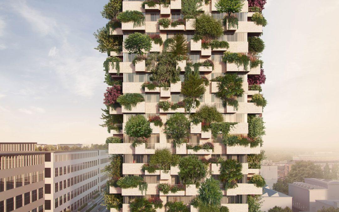 Trudo bostoren: Een huurwoning met een bos op je balkon